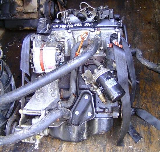 купить двигатель б/у на Audi 80