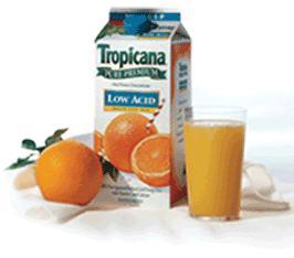 An orange juice