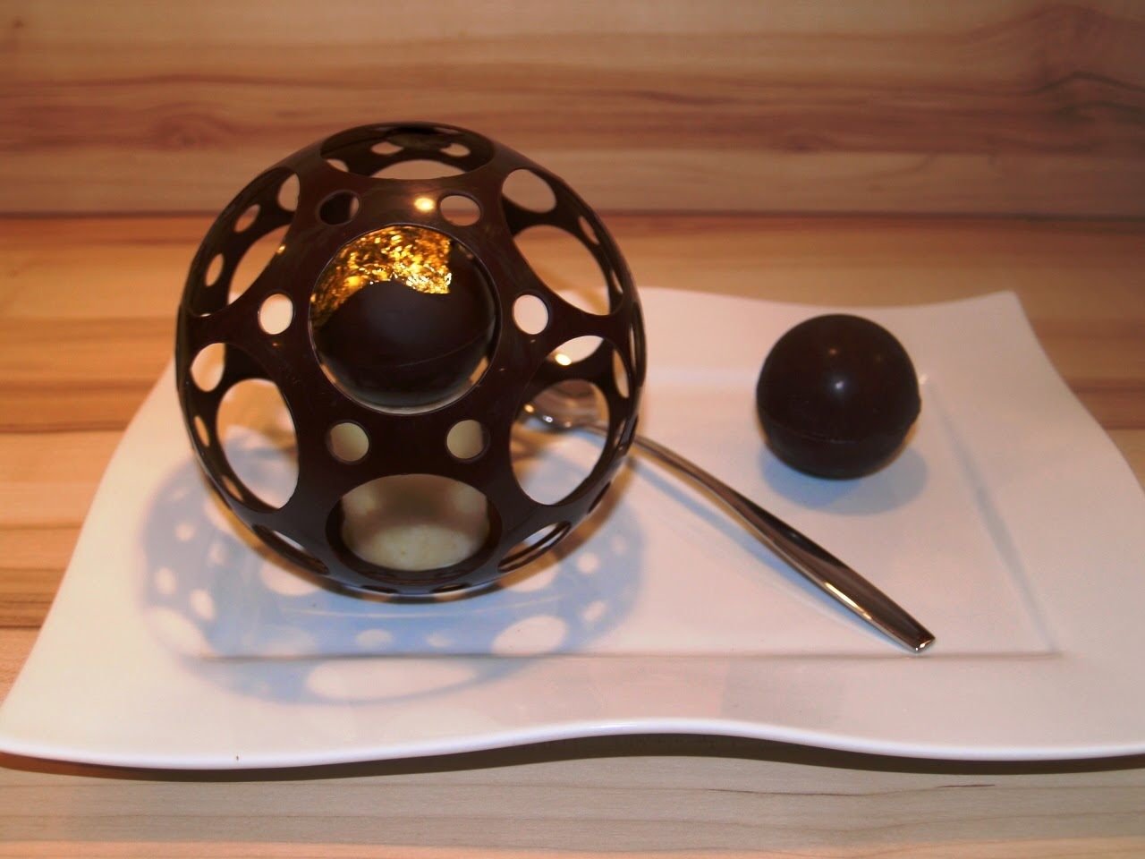 demi sphère chocolat facile