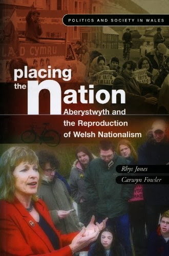 Llyfr / Book: Placing the Nation