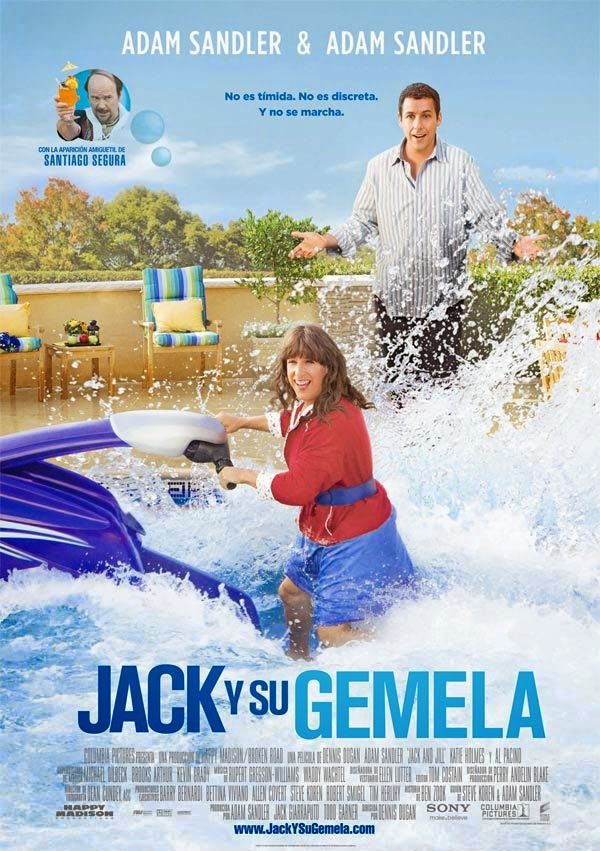 Jack y su gemela (Jack y Jill) (2011) online espa�ol latino ...