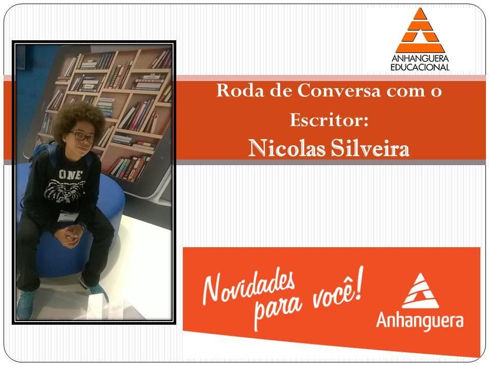 Escritor com 15 anos-Nicolas Silveira