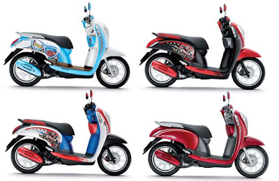 New face Honda Scoopy PGMFI introduced in thailand