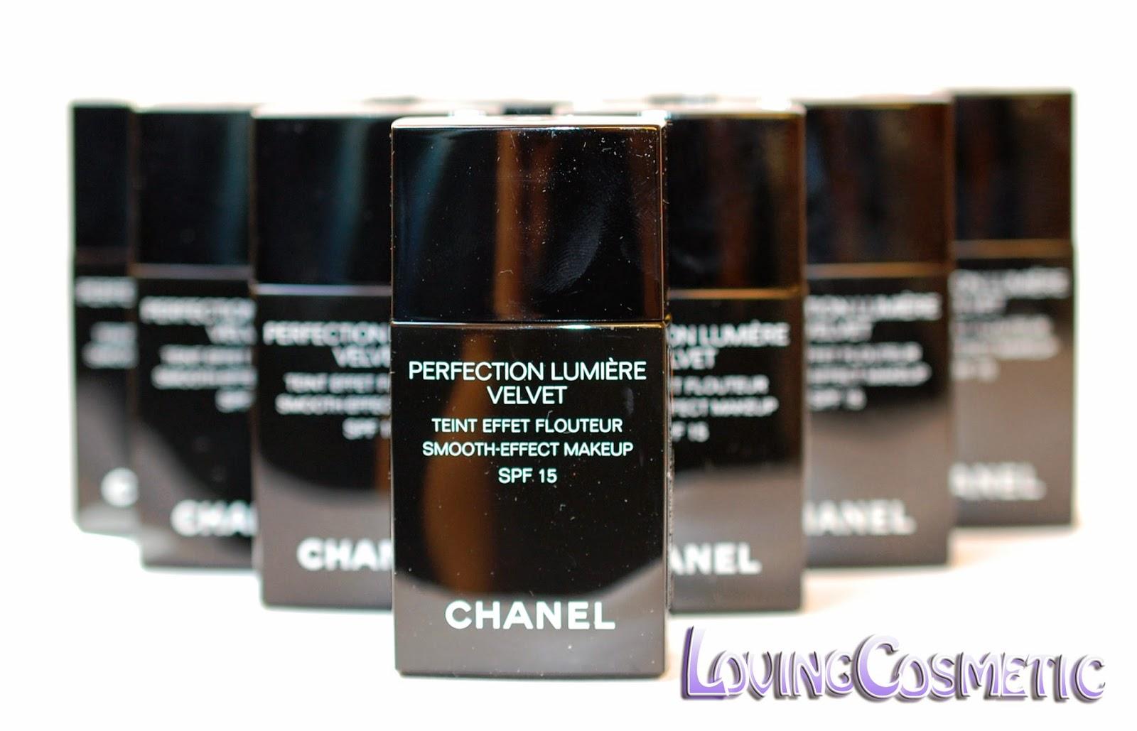 Chanel perfection lumiere velvet spf 15 opinión tonos colores efecto caracteristicas