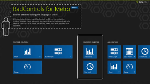 Telerik radcontrols for windows 8 metro beta is now for Telerik window