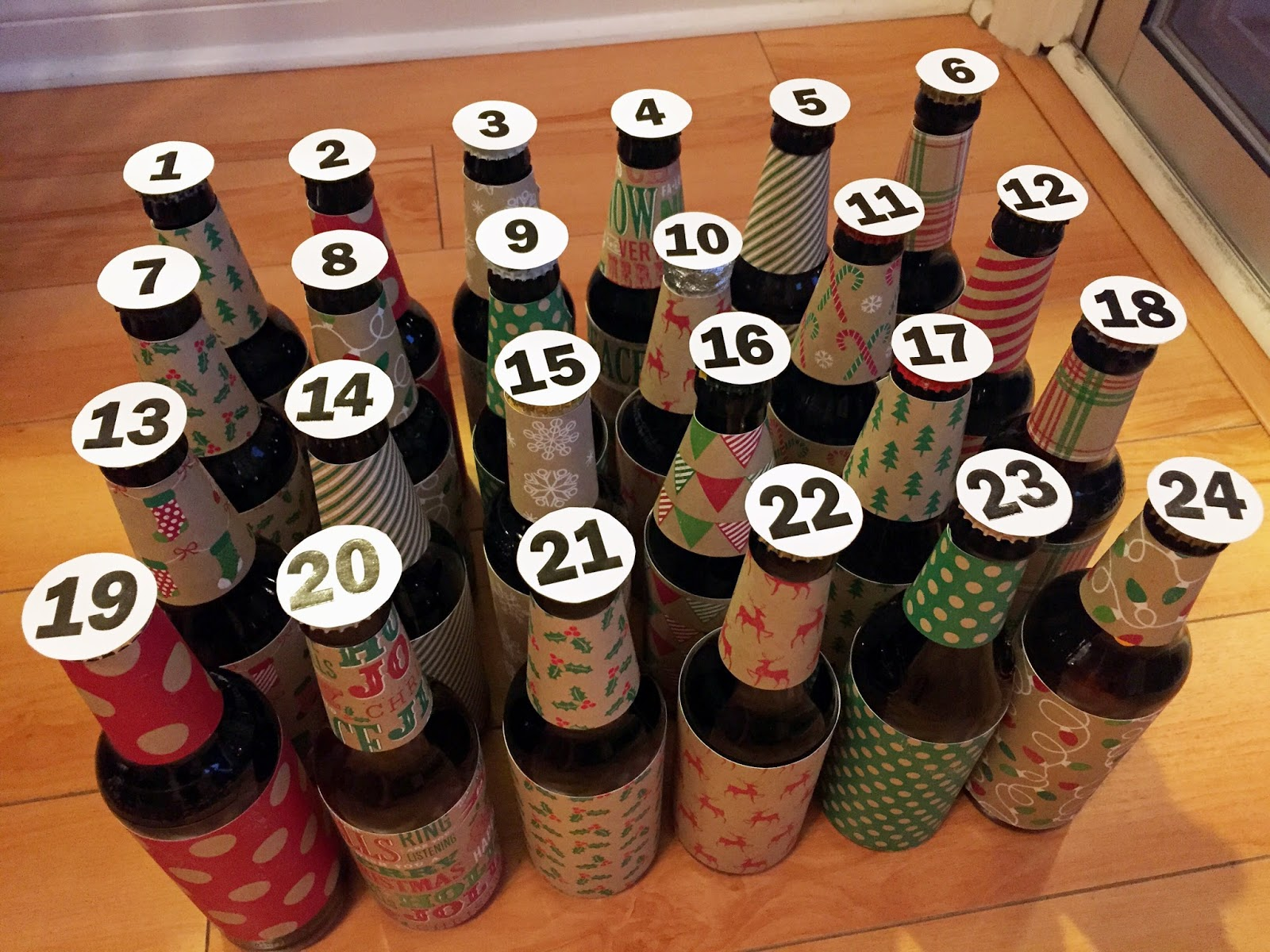 Beer Advent Calendar Diy : Chasin mason gifts for the husband diy beer advent