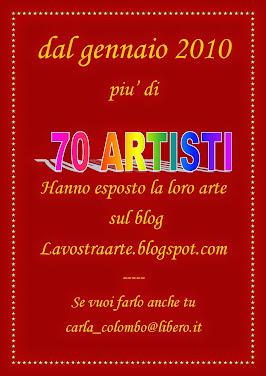 La Vostra  arte ospite sul mio blog