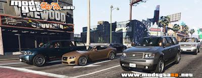 V - Mod Mais Variedades de Veículos nas Ruas para GTA V PC