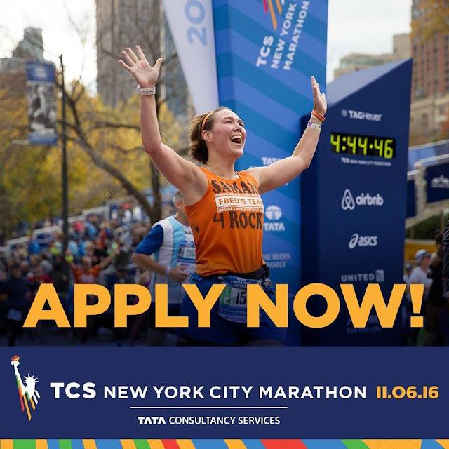 Sorteo Maratón Nueva York 2016