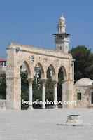 Jerusalém fotos - Esplanada das Mesquitas (Monte do Templo, Har Ha-Bayit, Nobre Santuário, Al-Haram ash-Sharif, Mesquita de Al-Aqsa, Cúpula da Rocha)