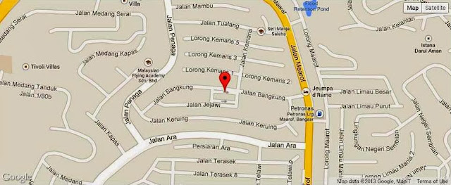 KL Restaurant Week, OPUS Bistro @ Bangkung, bangsar, Food Review, Italian food, cuisine, location map, how to get there