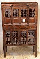 Image d'un meuble de cuisine chinois