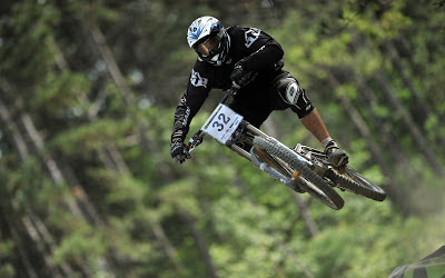 Flying Bike Downhill Best Cycling 2013 Hd Desktop Wallpaper