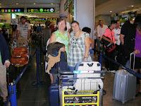 Aeropuerto de Barajas, Madrid, Barajas airpot, Madrid, vuelta al mundo, round the world, La vuelta al mundo de Asun y Ricardo