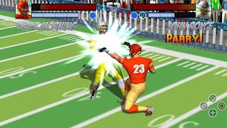 Screenshots of the Football rugby players fight for Android tablet, phone.