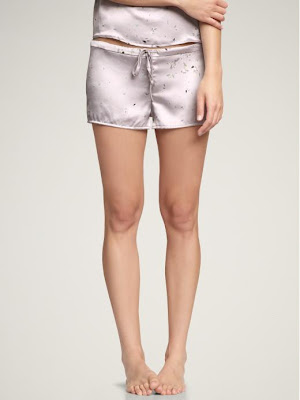 Trend-Spotting, Tap Pants, fashion, fashion trends, lingerie, Gap Body Love Collection Satin Tap Shorts