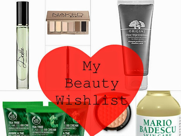 My Current Beauty Wishlist
