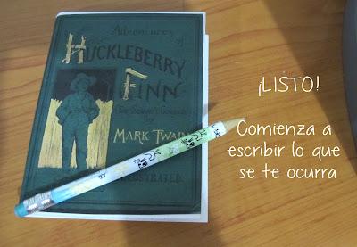 Libreta Huckleberry Finn
