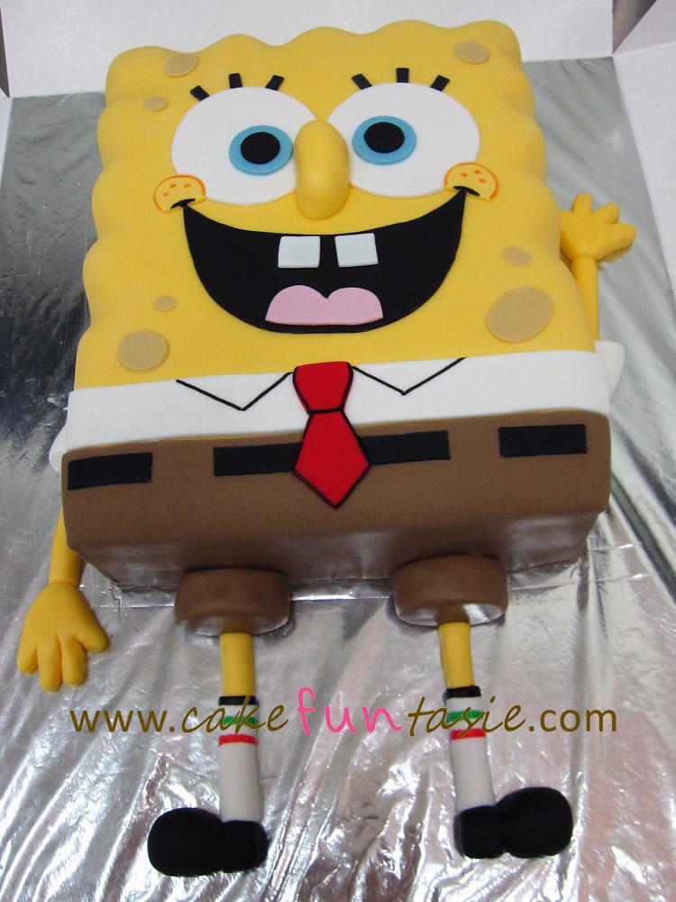 Cake Funtasie Spongebob Squarepants Cake