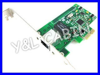 Gigabit Ethernet LAN to PCI-E Express Card 10/100/1000M
