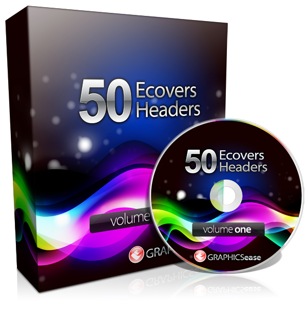 Graphics Ease 50 eCovers and Headers MRR
