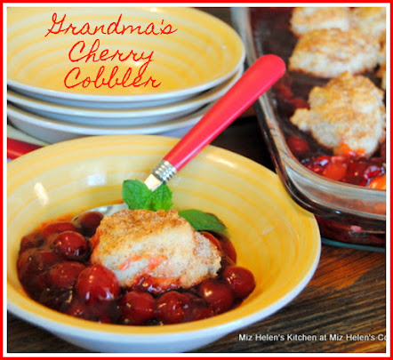 Grandma's Cherry Cobbler
