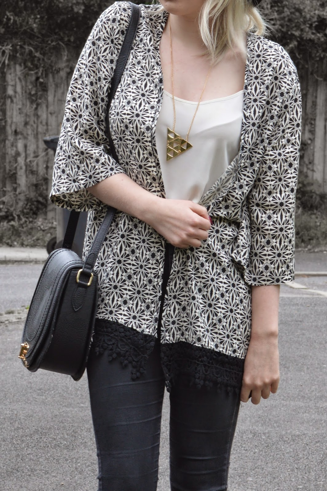Sammi Jackson - Monochrome Kimono