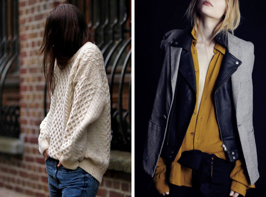 fall fashion inspiration, oversized sweater, layers