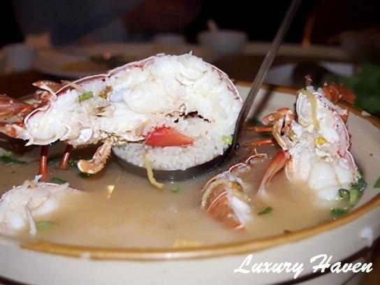orchid live seafood restaurant lobster porridge