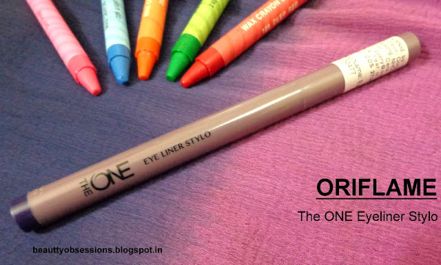 Flaunt The Blue Cat Eyes With Oriflame The ONE Eyeliner Stylo 'BLUE' ..