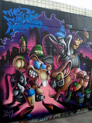 Graffiti Characters,graffiti cartoon
