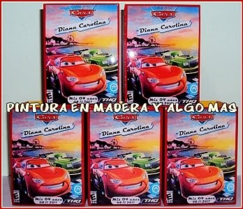 SORPRESAS CARS 2