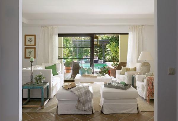 Estilo andaluz decorar tu casa es - Cortijos andaluces encanto ...