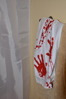bloody towel giveaway