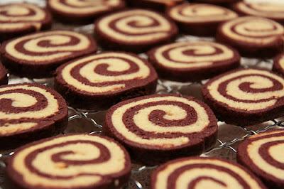 Resepi Biskut Coklat Swirl