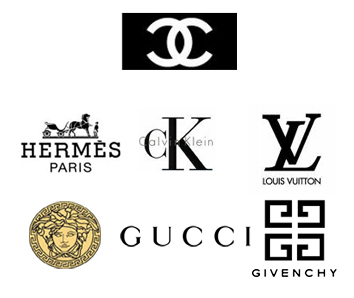 Womens fashion and men 39 s fashion fashion brand logos for French couture brands