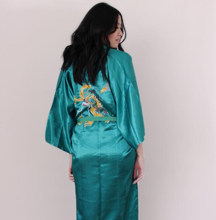 Valentines Day List Vintage Kimono