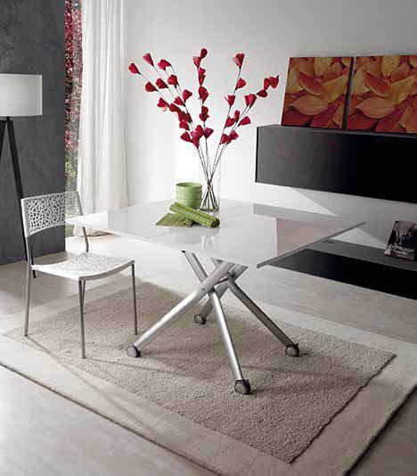 Mesas de comedor por la decoradora experta 2 mesas para - Mesas para salones ...