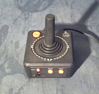 classic atari joystick gaming device