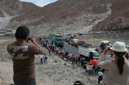Más de 5,500 personas apreciaron rally Dakar 2013 en Arequipa