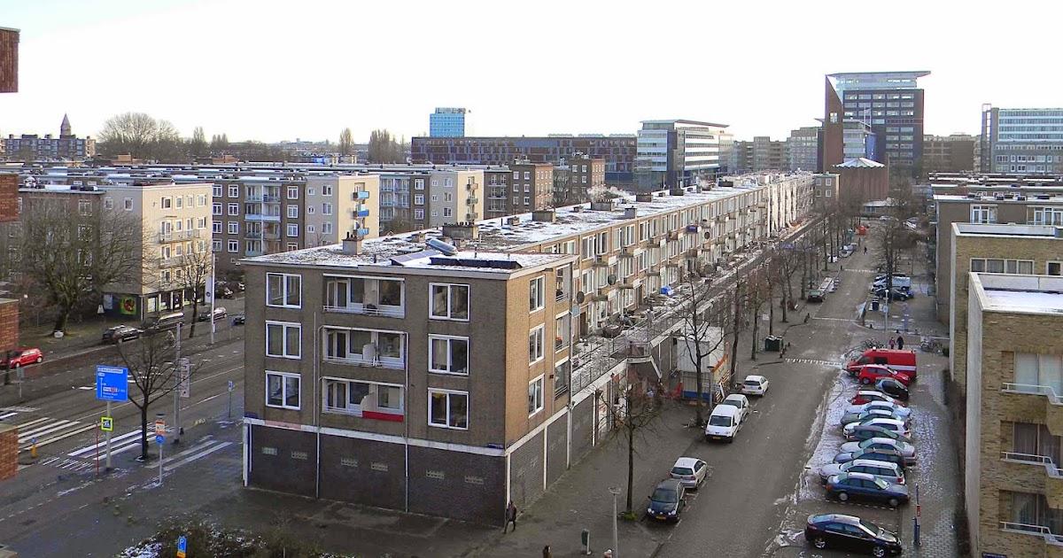 Projecteren  Borstblok Amsterdam West  renovatie geen sloop