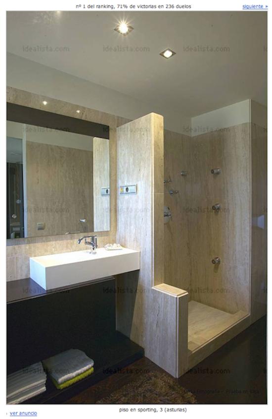 Ba o con ducha los 10 mejores ba os de espa a - Los mejores banos ...