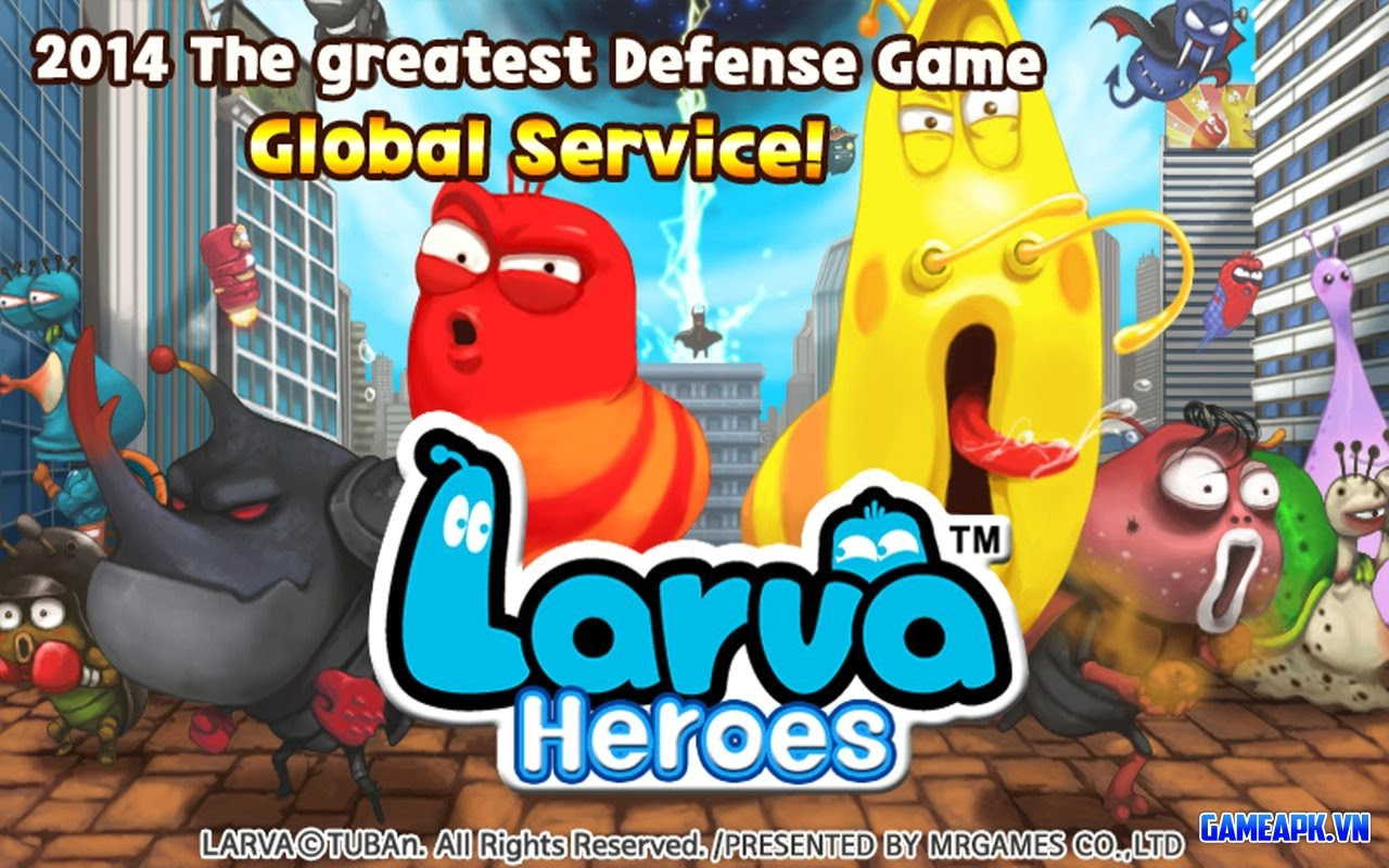 Tải Larva Heroes: Lavengers 2014 v1.2.0 APK cho Android
