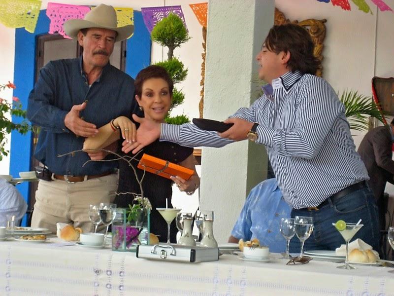 Camilo Concha and Vicente Fox