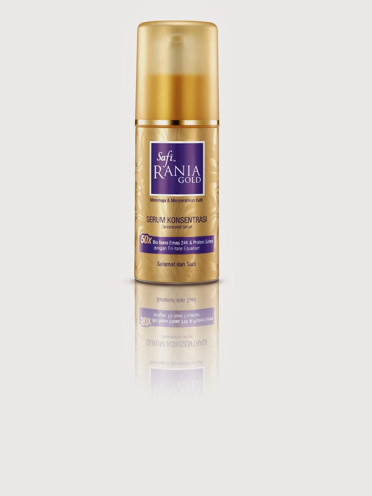 What Every Gal Want Safi Rania Gold Range Of Products Cream Pemutih Badan Body Gunakan Selepas Membersih Wajah Serum Konsentrasi Mengembalikan Keremajaan Kulit