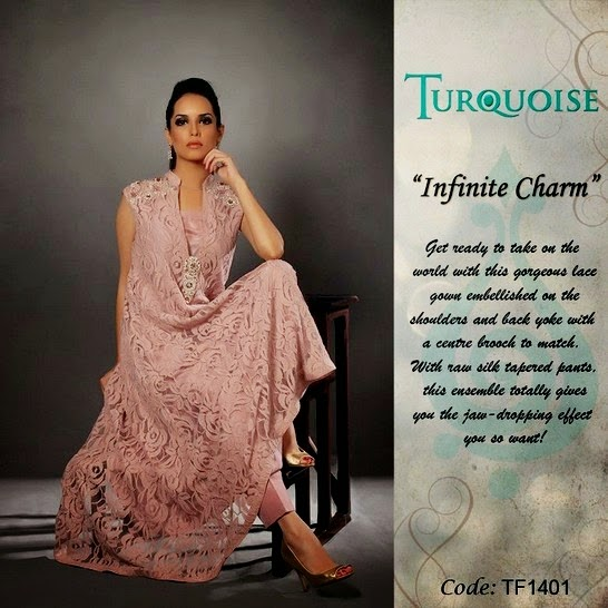 Turquoise Formals Wear Dresses 2014