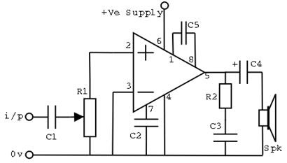all for students  audio amplifiers with lm386 ic