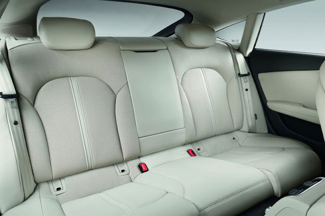 2011 Audi A7 Sportback Back sit Interior