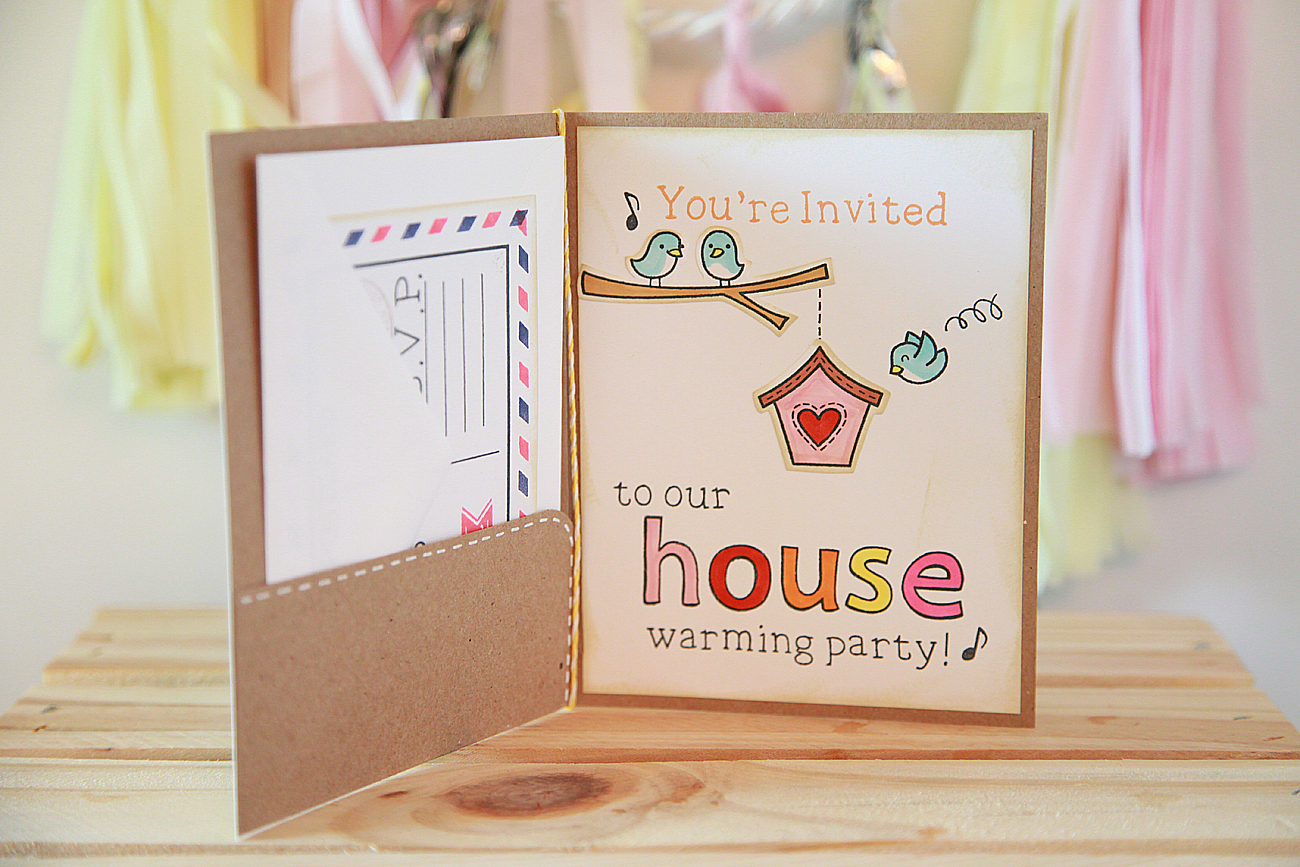 Unify Handmade: Handmade Housewarming Party Invitations
