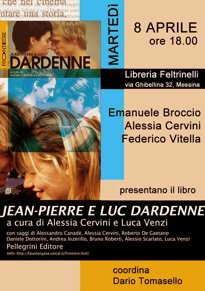 "PRESENTAZIONE ""JEAN-PIERRE E LUC DARDENNE"" AL FELTRINELLI POINT MESSINA"